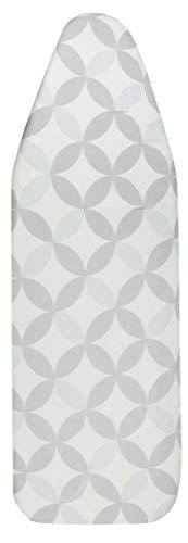 ZOLLNER XXL Bügelbrettbezug Baumwolle, elastischer Gummizug, 48x140 cm