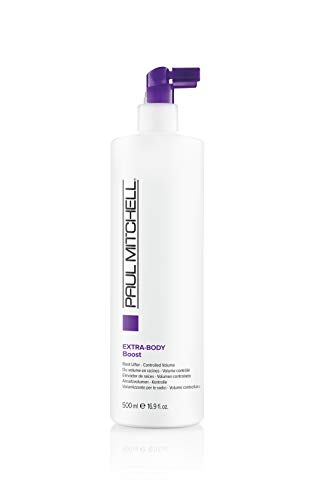 Paul Mitchell Extra-Body Boost - Volumen-Spray für feines Haar, Ansatz-Spray für flexiblen Halt, 500 ml