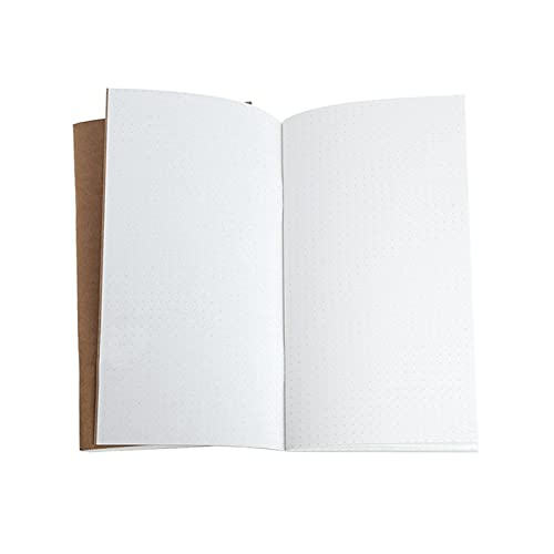 LQHZ computadora portátil Kraft Paper Cuaderno Cuaderno Book Journal Diary Memo Página en Papelería Exquisita artesanía, Conveniente y práctica. (Color : Burgundy)