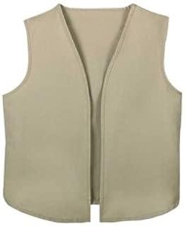 Girl Scout Cadet/Senior/Ambassador Vest - CAD/SR/AMB - Large Beige
