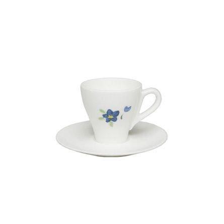 Dibbern Impression Espresso Obertasse Classico 0,11 L Blau