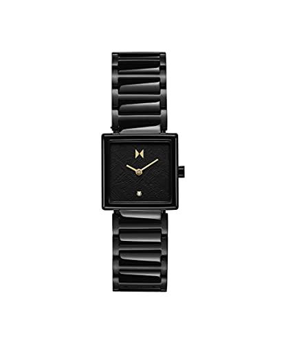 MVMT Damen analog Quarz Uhr mit Edelstahl Armband 28000145-D