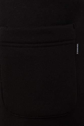 Converse Star Chevron EMB Short Black – Herren-Shorts, schwarz (schwarz) - 4
