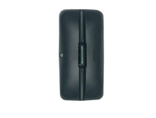 Alkar 9403141 Reversible Main handdoek radiator, gebogen, glas, met behuizing, 16-22 mm, 380 x 185 mm