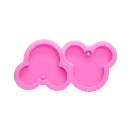 Guratapa Shiny Glossy S Cute Minnie Mickey Mouse Head Shape Silicone...