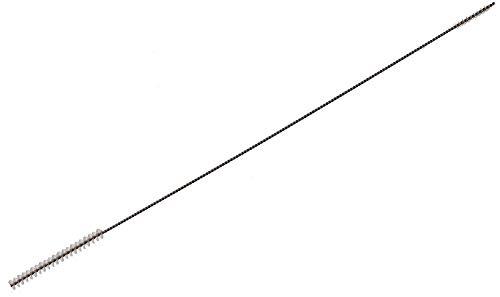 Piebert Doppelreinigungsbürste 3/5mm kompatibel/Ersatzteil für Philips Senseo Milchschlauch Siikonschlauch   Extra Lang 270mm   Edelstahldraht, Nylonfasern