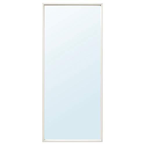 IKEA NISSEDAL - Espejo (65 x 150 cm), color blanco
