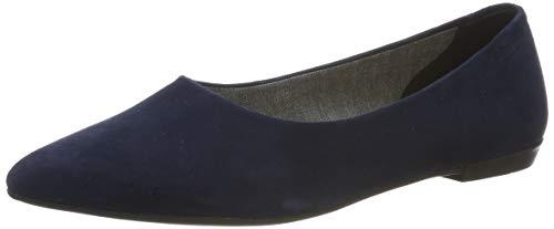 Vagabond Damen Aya Geschlossene Ballerinas, Blau (Dark Blue 64), 36 EU