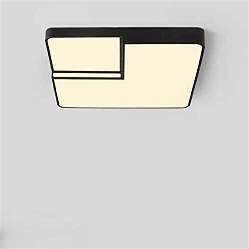 LED Lampada da soffitto Lampada da camera da letto a tre toni Lampada da camera da letto quadrata Lampada a soffitto moderna Minimalista Geometrico Geometrico Studio creativo Stanza Lampada soggiorno