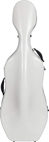Custodia per Violoncello Fiberglass 4/4 Ultra Light white M-Case