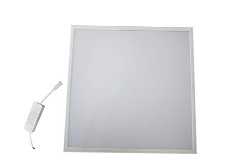 Panel De LED Cuadrado de 60x60 cm, Con Marco De Aluminio (AC85-256) 60W 6400K