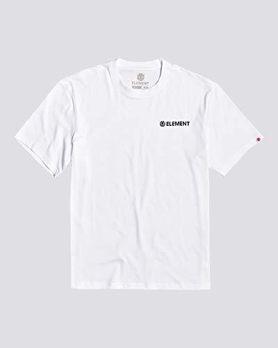 Element Homme T-Shirt Blazin Chest (Optic White), Größe:M