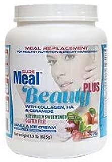 Suremeal Beauty Plus with Collagen, Ha, Ceramide Net Weight 1.9 lb (885g)
