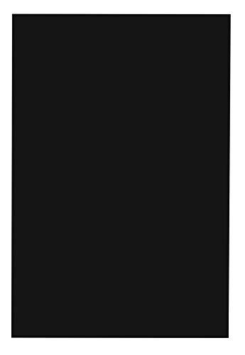 School Smart Folding Bristol Tagboard, 18 x 24 Inches, Black, Pack of 100