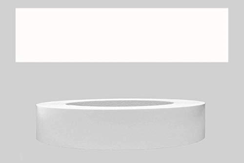 Mprofi MT® (5m rollo) Cantoneras laminadas melamina para rebordes con Greve Blanco Liso 17 mm
