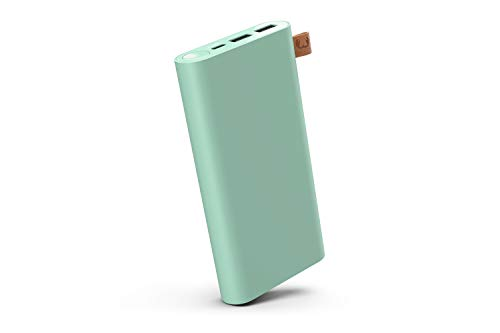 Fresh 'n Rebel Powerbank 18000 mAh USB-C | Portable charger - 2-ports USB-C & USB – Misty Mint