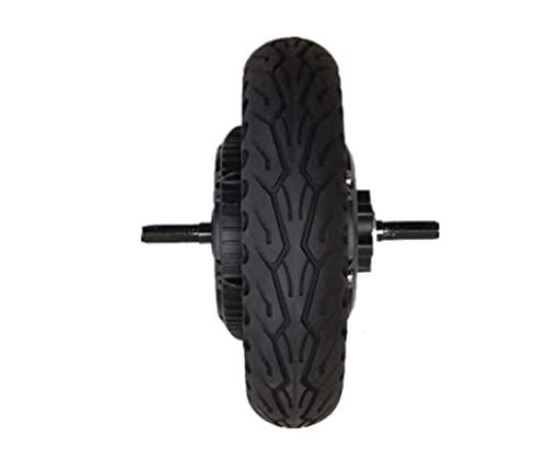 PINGJIA 500W-1000W 10 Pulgadas Neumático Inflable Scooter Motor Rueda Neumático Vehículo Eléctrico Motor Sin Escobillas DC Motor Amortiguador Reemplazo del Neumático