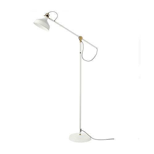 Tingting1992 lampadaire Lampadaire de canapé de Salon créatif, Lampe de Sol escamotable de Lecture Simple de Conception Nordique, Lampe Verticale de Travail de canapé Lampe (Color : White)