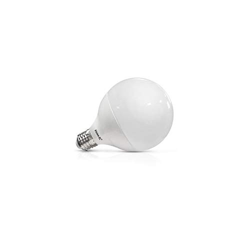 Vision-el - Ampoule LED E27 Globe 15W 6000°K