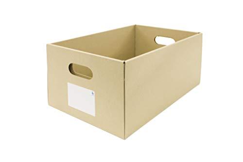 くろがね ダンボール収納ボックス (10枚入り) A5サイズ もち手つき