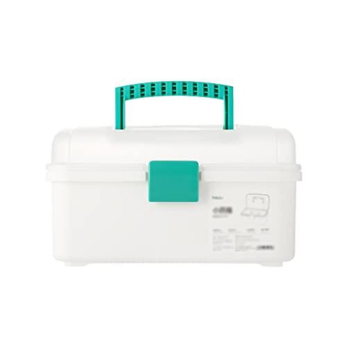 Pequeño Kit médico, Kit de Primeros Auxilios portátil, Caja de Almacenamiento Caja de medicamentos Adecuada for el Campamento de Viajes de la Escuela doméstica