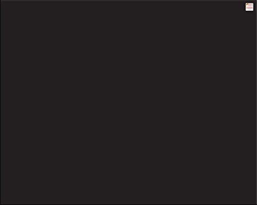 Glas Expert Küchenrückwand | 100 x 60 cm | Schwarz | EVOKERAM Glass ® | Deko Spritzschutz Rückwand für Küche, Herd, Fliesen, inkl. Befestigungsmaterial