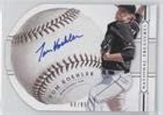 Tom Koehler #60/99 (Baseball Card) 2014 Panini National Treasures - Baseball Signature Die-Cuts #91