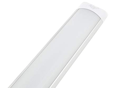 Plafoniera LED 40Watt, Naturale 120Cm Slim SMD Soffitto 220V Lampada Argento