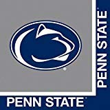 NCAA Creative Converting Penn State Nitty Lions Party Bundle Lunch Napkins (60)