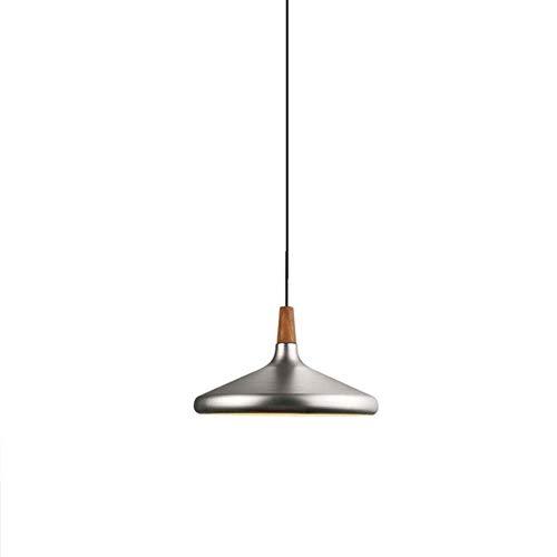 Lámpara de techo colgante de aluminio, altura de cono nórdico, candelabro industrial ajustable, iluminación Art Deco para cocina, dormitorio, salón, bar, lámpara colgante B