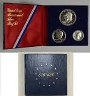 1976 S 3 Piece Proof set in original Packaging from US Mint Proof