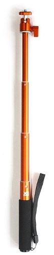 Xsories U-Shot - Lanza Extensible (De 20 a 50 cm, soporta cámaras de hasta 500 g), Naranja