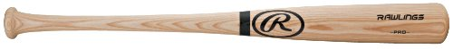 "Rawlings 34"" Adult Full Size Ash Wood Baseball Bat - Big Stick - Black Ring - Model Number: 232APSIG-34"