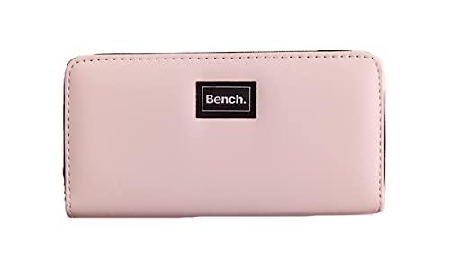 BENCH Monedero para mujer con cremallera, Mauve (rosa)., xx-large, Clásico