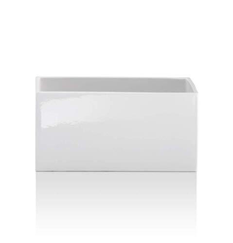 Decor Walther DW 624 Behälter offen - Keramik weiß