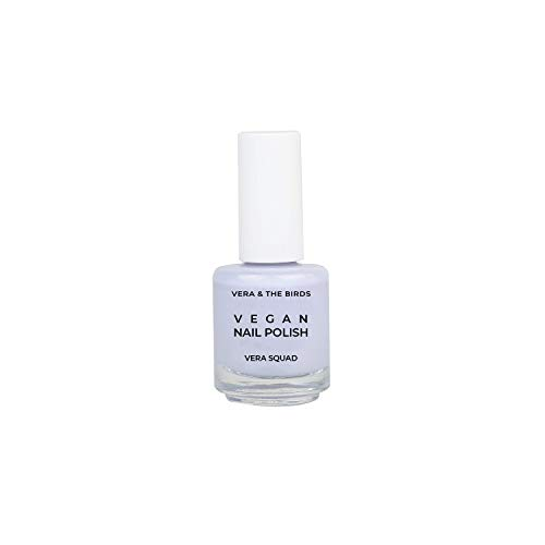 Laca de uñas vegana y natural color azul 'Vegan nail polish Vera Squad'