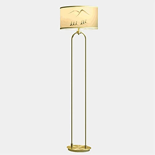 YAOLUU Lampara Pie Lámpara de pie LED, luz de pie con Interruptor de pie, lámparas de Lectura de Esquina Luz de Poste Alta para Sala de Estar Sala de Estar Lampara Lectura