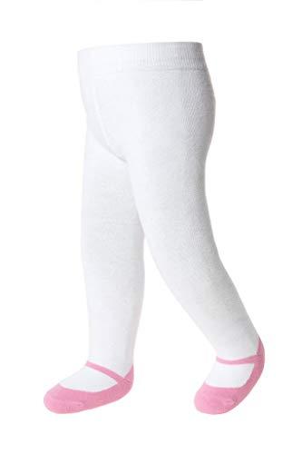Baby Emporio-Baby Maillot/Leggings -Baby Meisje-Katoen-Mary Jane Schoen look-Antislip