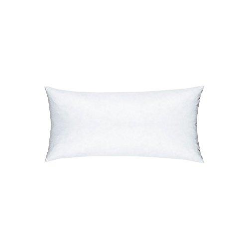 Linum Synthetisches Kisseninlett 25 x 50 (26) weiß