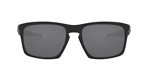 Oakley Sonnenbrille Sliver Gafas de sol, Polished Black, 57 para Hombre