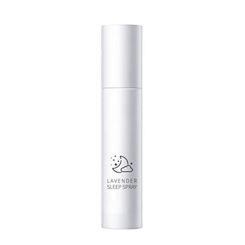 Tixiyu Spray de lavanda para dormir profundo, almohada relajante para dormir, aromaterapia, fragancia para el hogar, oficina, baño, ayuda para dormir totalmente natural, 75 ml
