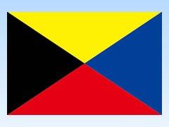 Z旗 [ 木綿天竺 70×105cm ]