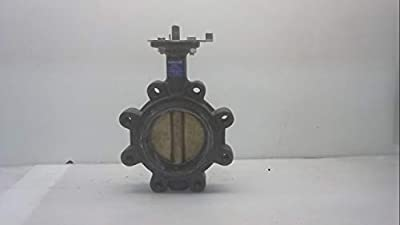 """200 Psi 250F 4"""" Ductile Butterfly Valve W/ Handle, Nnb from NIBCO"""