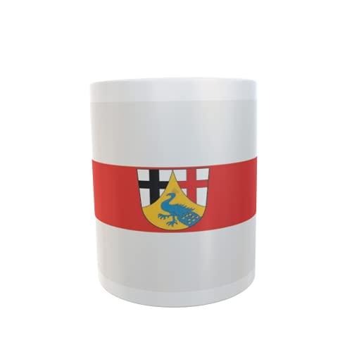 U24 Tasse Kaffeebecher Mug Cup Flagge Landkreis Neuwied