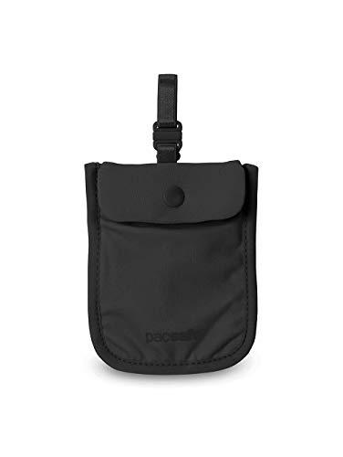 Pacsafe Coversafe S Pochette Tour de Cou, 11 cm, Noir (Black)