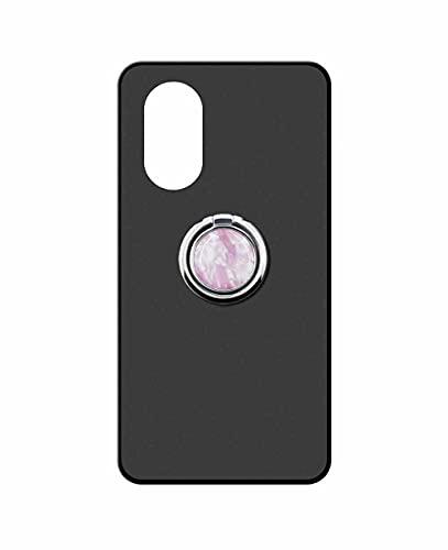 Sunrive Funda Compatible con Huawei Nova 8 Pro 4G, Silicona Mate Gel Carcasa Case Bumper Anti-Arañazos Espalda Cover Anillo Kickstand 360 Grados Giratorio(Mármol Rosa) + 1 x Lápiz óptico