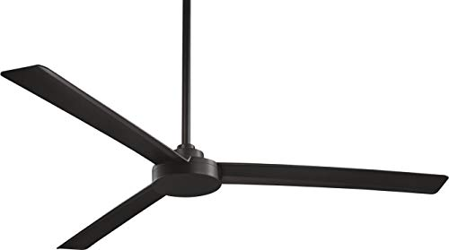 Minka Aire Roto Fan in Coal Black Finish …