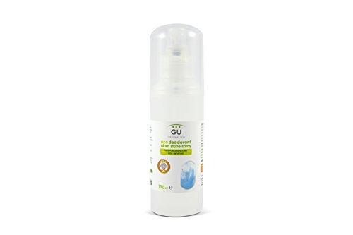 Desodorante Natural 150 ml - 100% Mineral de Alumbre - Elimina Bacterias sin Cerrar los Poros - Sin Parabenos, Alcohol o Conservantes - Cosmética Natural - Desodorante en Spray - GU Planet