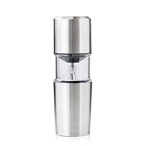 ZFQZKK Szlifierka elektryczna Coffee Młynek Mały Przenośny Filtr Ręczny Zestaw Fresh Grinder Kopianka mini ekspres do kawy