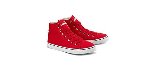 Diadora Scarpa Running Sneaker Jogging Donna Clipper c High w Red Ribbon